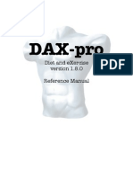 DAX-Pro Reference Manual