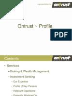Ontrust Profile