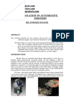 An Innovation in Automotive Industry