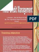 Hotel Credit Management Training