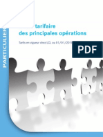 Guide Tarifaire Particuliers