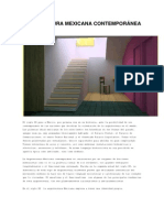 ARQUITECTURA MEXICANA CONTEMPORÁNEA Y MODERNA