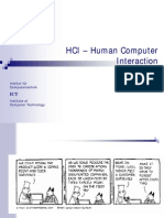 Adv of HCI