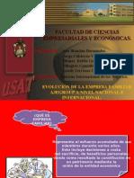 Diapositivas de la empresa AJEGROUP