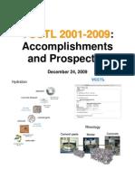 VCCTL Accomplishments Prospectus 12-24-09