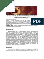 Angina Inestable e Infarto Agudo de Miocardio Sin Elevaciondelsegmentost