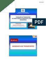 GEOGRAFIA DE TRANSPORTES