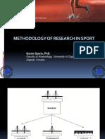 Methodology in Sport Science