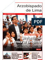 Arzobispado de Lima Febrero 2012