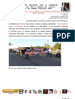 Informes Marcha Caminata Ruta Uno 20-03-12