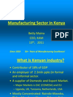 By Betty Maina - CEO - Kenya Association of Manufacturers - KAM (1)
