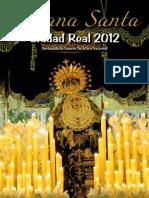 Programa de mano - Ciudad Real 2012