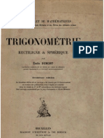Emile Dumont - Trigonométrie rectiligne & sphérique