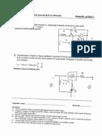 Esempi Esame Completo - Elettrotecnica
