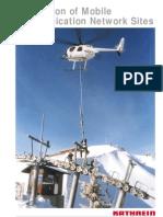 antenna installation for wireless communications