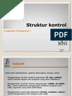 JENI Slides Intro1 Bab06 Struktur Kontrol