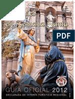 Programa de Mano - Daimiel 2012
