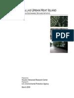 Dallas Tree Canopy Final Report
