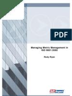Whitepaper Managing Metric Management