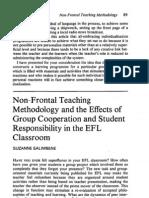 Non Frontal Teaching Methodology