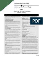 Generic Drugs in Dermatology I