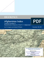 Brookings Afghanistan Index