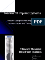 Review of Implant Systems