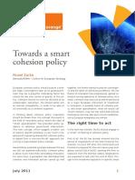 Towards a smart cohesion policy (Eng)/ Hacia una política de cohesión inteligente (Ing)/ Kohesio politika inteligente baterantza (Ing)