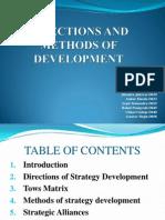 Strategy Presentation Group 8