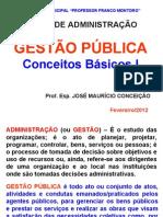 1 - 1 - Gestao Publica - Conceitos Basicos I OK