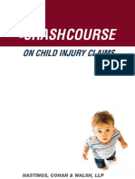 The Crash Course on Child Injury Claims eBook