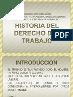 Historia Del Derecho Del Trabajo Con Nombres