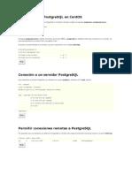 Instalación de PostgreSQL en CentOS