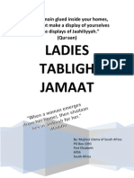 Ladies Tabligh Jamaat Booklet