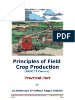 Practices of Field Crop Production