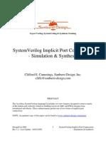 CummingsDesignCon2005_SystemVerilog_ImplicitPorts