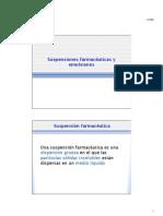 FAFQII - Suspensiones gruesas