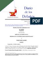 Debates Del Pleno Del Congreso Del Dia 04-01-2012