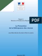 Bockel La Prevention de La Delinquance-Des-jeunes