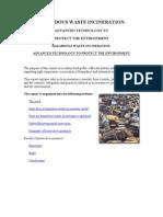 Hazardous Waste Incineration