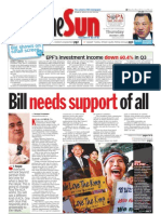 TheSun 2008-12-04 Page01 Bill Needs Support of All