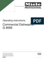 G8066 Miele Casi Manual