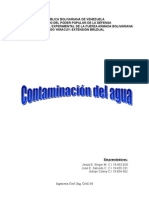 Contaminacion del agua 2