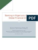 Nigerian Banks_Global Fin_Crisis - Soludo