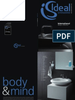Bathroom Suites by Ideal Standard - International Brochure 2011