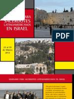 Seminario de Curas Larinoamericanos en Israel