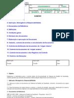 PQ-001 - Controle de Documentos - Revisão 01