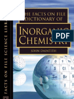 Facts on File - Dictionary of Inorganic Chemistry