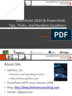Share Point Power Shell Tips Tricks and Random Goodness