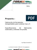Fabricación de Tanques Proyecto